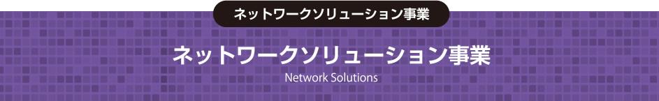 ネットワークソリューション事業